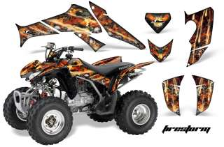 AMR RACING GRAPHICS HONDA TRX 250EX 250X DECAL KIT FIRE
