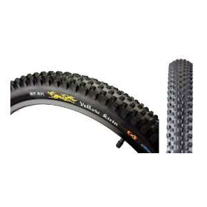 Yellow Kirin Freeride Tire 26 x 2.3 Wire Bead BW: Sports & Outdoors