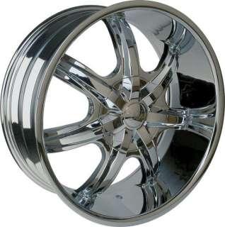 Wheel + Tire Packages 26 inch Triple chrome rim U2 35T