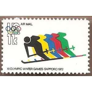 US Air Mail 11th Olympic Winter Games Scott C85 MNHVF