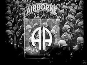 WWII Airborne Paratrooper D Day Bastogne 101st 82nd DVD