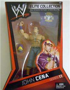 JOHN CENA WWE MATTEL ELITE SERIES 11 ACTION FIGURE TOY