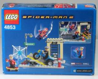LEGO SPIDER MAN 2 #4853 SPIDER MANS STREET CHASE ~ NEW FACTORY SEALED