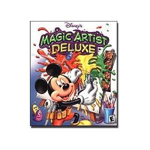 Magic Artist Deluxe and Disneys Magic Artist 3D (2 Pack): Software