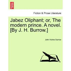 novel. [By J. H. Burrow.] (9781241380236): John Holme Burrow: Books