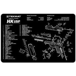 Cleaning Work Tool Bench Gun Mat For Heckler & Koch H+K HK USP Pistol