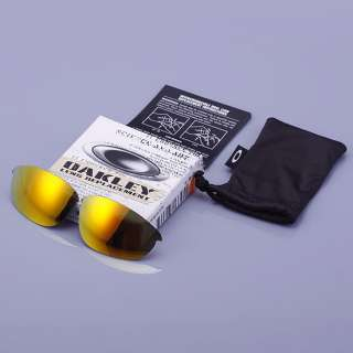 OAKLEY HALF JACKET Sunglasses LENS KIT FIRE IRIDIUM 13 391