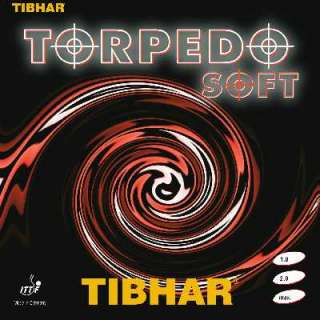 Tibhar Torpedo Soft Rubber Table Tennis Ping Pong