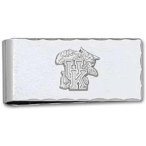 Silver University Kentucky Wildcat Money Clip GEMaffair Jewelry