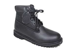 New Mens Black Shoes (Work boots Insulated & Water resistant)