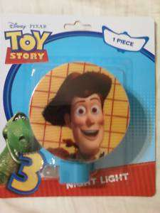 NEW DISNEY TOY STORY 3 BUZZ WOODY NIGHT LIGHT KIDS