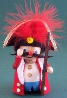 Soldier Nutcracker Suite German Wood Christmas Tree Ornament