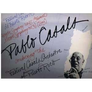 com Festival Casals de Puerto Rico 1959 Haydn, Mozart, Pablo Casals