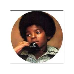 Young Michael Jackson Telephone Magnet