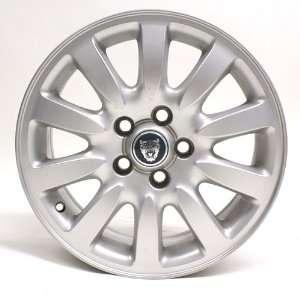 16 Inch Jaguar X type 2002 2003 Silver Oem Wheel #59712