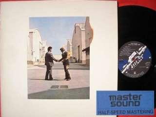 PINK FLOYD WISH YOU WERE HERE JAPAN HALF SPEED MASTER SOUND LP