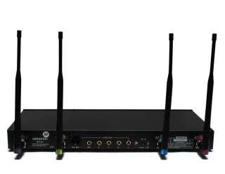 V2GO UHF 847U 4 Handheld Mic Wireless Microphone System