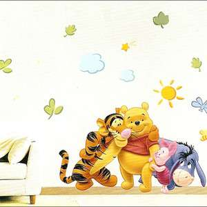 WINNIE THE POOH ★ DISNEY CHARACTER DECALS WALL STICKER