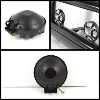 4x4 BLACK FOG LIGHTS KIT+SWITCH+BULBS GOOD ON BULL BAR JEEP CAR