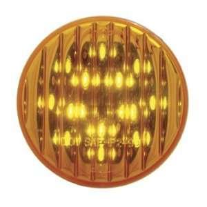 com Amber 2.5 Round 13 LED Truck Trailer Side Marker Clearance Light
