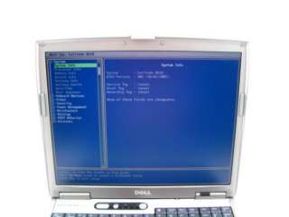 Dell Latitude D610 PM 1.60GHz 512MB Laptop Parts Repair Powers On Used