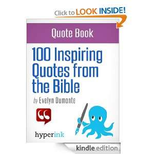 100 Inspiring Bible Quotes Evelyn Dumonte  Kindle Store
