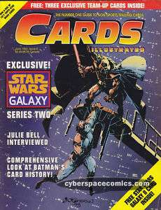 Cards Illustrated #6 star wars JULIE BELL INTERVIEW mag