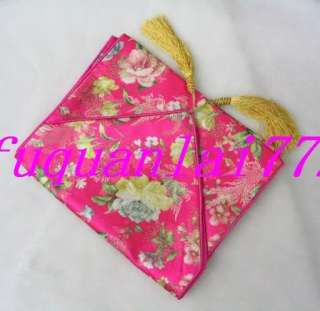 You are bidding on Chinese Auspicious Handmade Satin Table Runner
