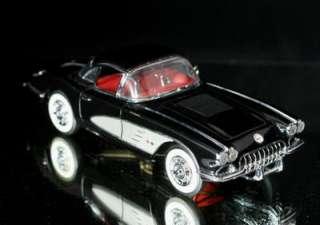 FRANKLIN MINT 1958 Chevrolet Corvette Diecast 124 BLK