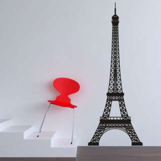 HUGE EIFFEL TOWER PARIS WALL STICKER ART DECAL MURAL