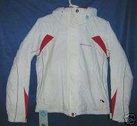 Womens DARE2BE Ski/Snowboard Jacket White Size 6 8 XS