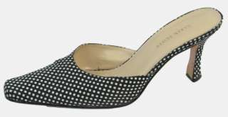 KAREN SCOTT ♥ Close Toe BLACK/WHITE Mules ♥