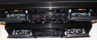 Lot of 2 Sony Dual Cassette Decks TC W570 And TC W320 As Is