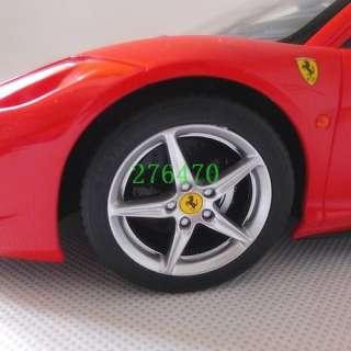 Official Authorized 114 Ferrari 458 Italia Remote Control Car Red
