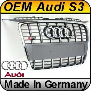 OEM Audi S3 8P (05 08) Grill SFG Chrome S Line Grille |