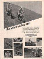 1966 Harley Davidson Sportster 900cc Motorcycle Ad.