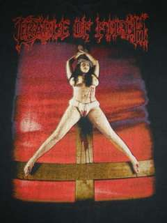 OF FILTH DESIRE ME LIKE SATAN 1997 T SHIRT VTG METAL TOUR XL