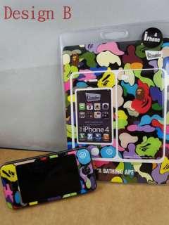 Bathing Ape x Gizmobies iphone 4 Bape 3M Skin Sticker