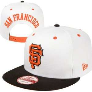 MLB San Francisco Giants Snapbacks Hats White Orange