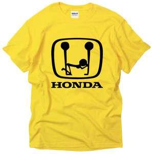 Honda Funny Logo Motor Bike Humor Design cool car t shirt