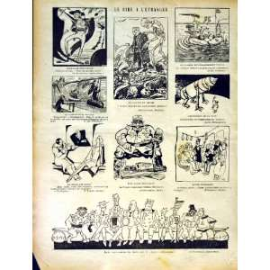 : LE RIRE FRENCH HUMOR MAGAZINE BANK MEN PEOPLE BOAT: Home & Kitchen