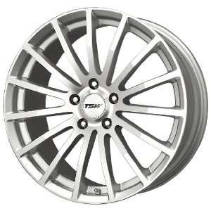TSW Alloy Wheels Mallory 5 Silver Machined Wheel (17x8