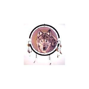 Indian Jumbo Wolf Head War Shield Dream Catcher: Everything Else