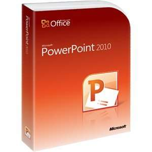 Microsoft PowerPoint 2010   Complete Product   1 PC