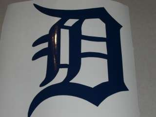 DETROIT TIGERS BASEBALL DECAL STICKER MLB CAR WINDOW