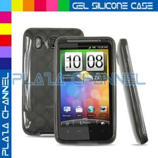 12Accessory Case Cover Skin+Battery Charger+LCD Film Guard For HTC