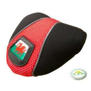 Sherpashaw,Wales Golf Mallet Putter Cover with FREE Sherpashaw ball