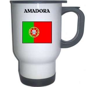 Portugal   AMADORA White Stainless Steel Mug: Everything