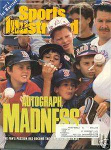 Paul Molitor autograph signed S/I MAG HALL OF FAME
