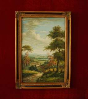 Hand Oil Painting landscape Art on Canvas Signed L21